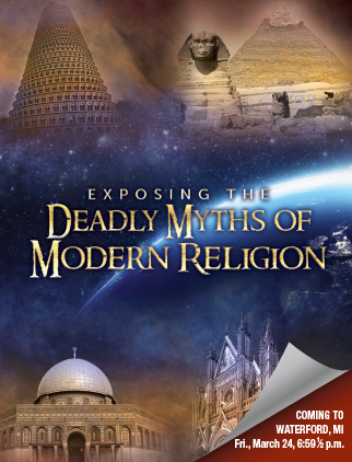 Exposing the Deadly Myths of Modern Religion - Cover
