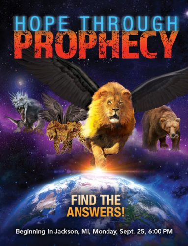 Hope Through Prophecy HB Cover